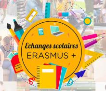 Logo échanges scolaires Erasmus+
