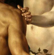 Maarten van Heemskerck, Adam et Eve