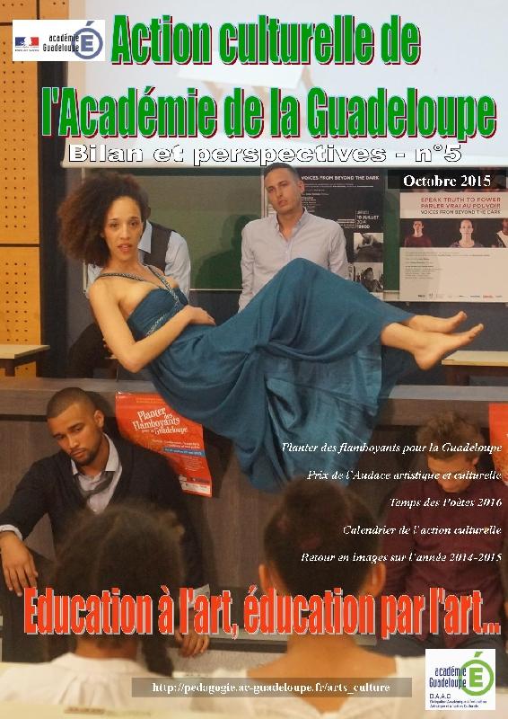 Une du journal numérique DAAC 2015