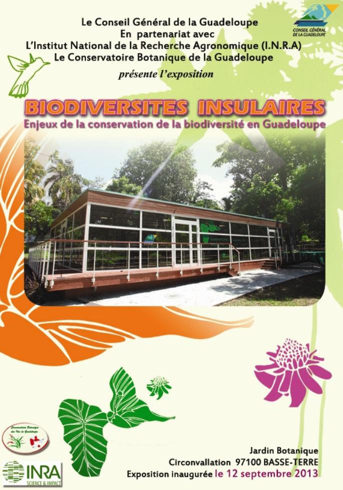 Flyer Exposition sur les biodiversités insulaires