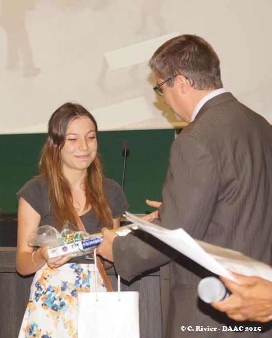Lauréate des olympiades de géosciences 2015