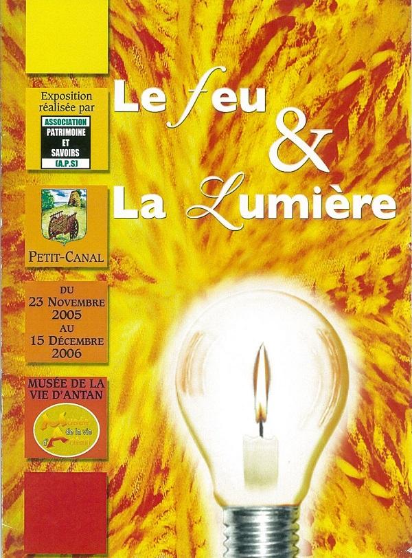 Exposition le feu et la lumière