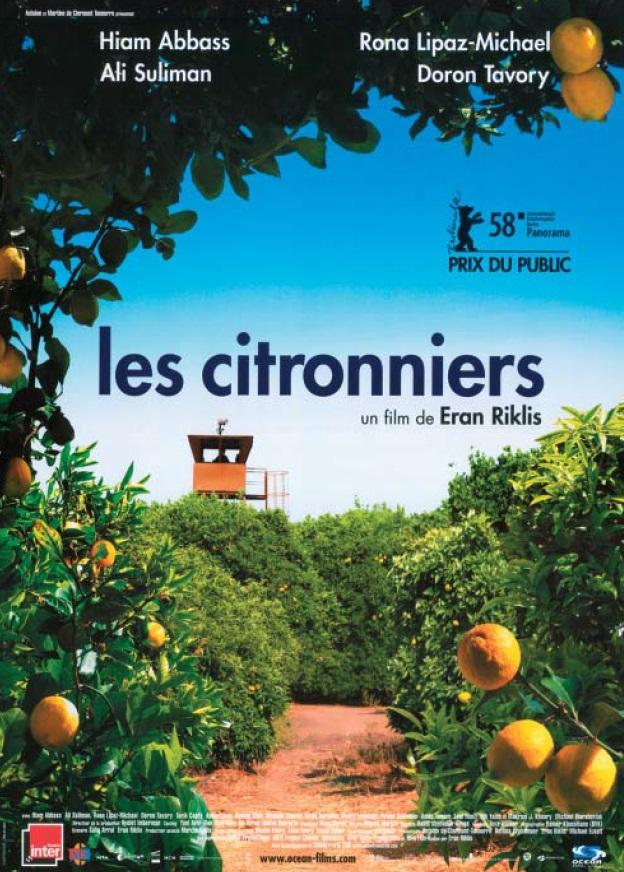 """Affiche """"Les citronniers"""""""
