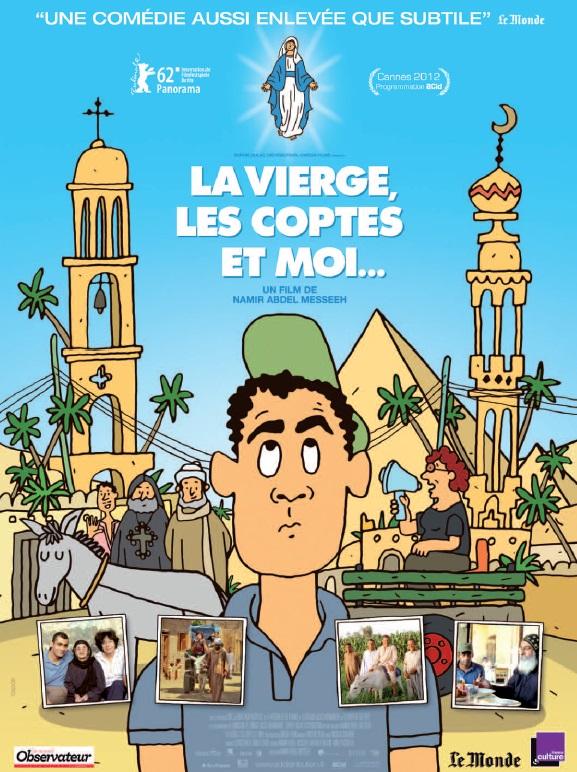 """Affiche """"La Vierge, les Coptes et moi"""""""