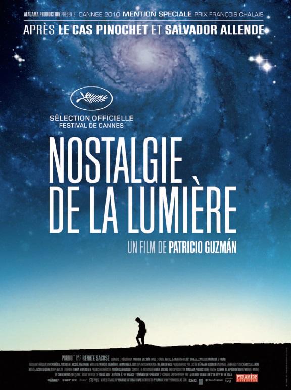 """Affiche """"Nostalgie de la lumière"""""""