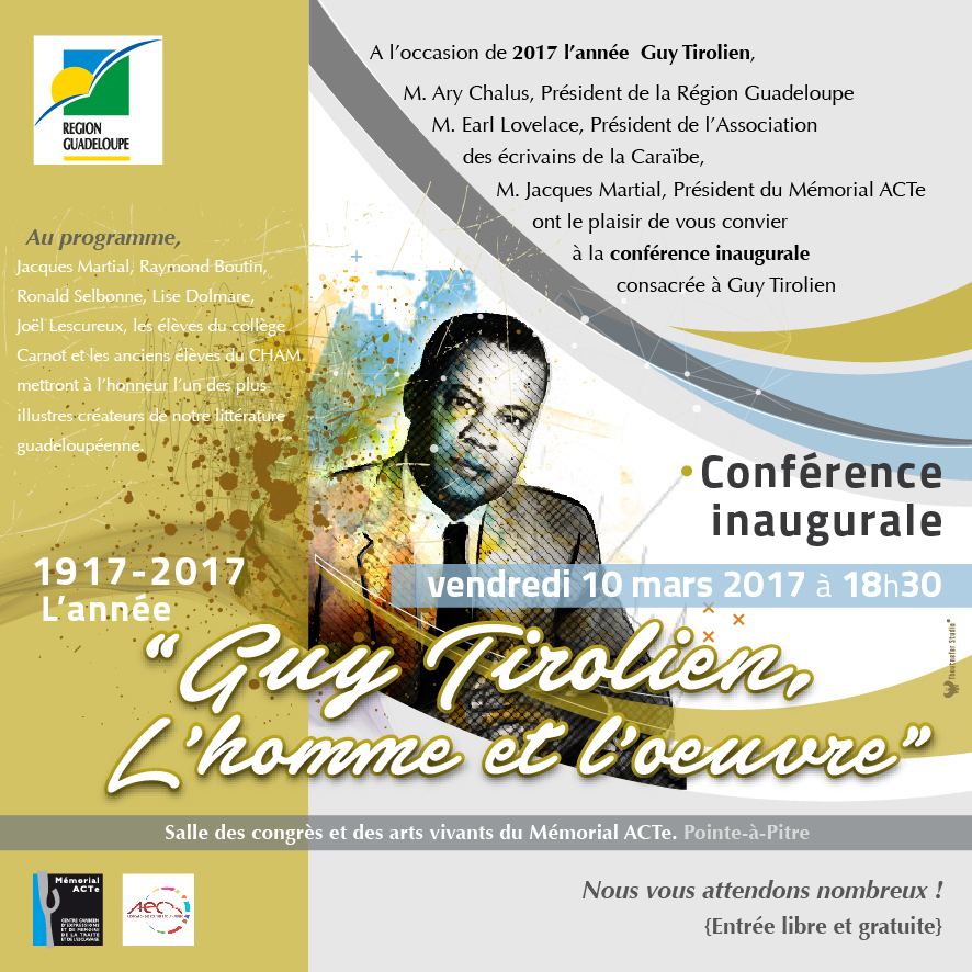 Invitation conférence d'ouverture