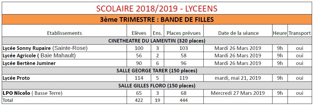 Planning 3eT lyc 2018-2019