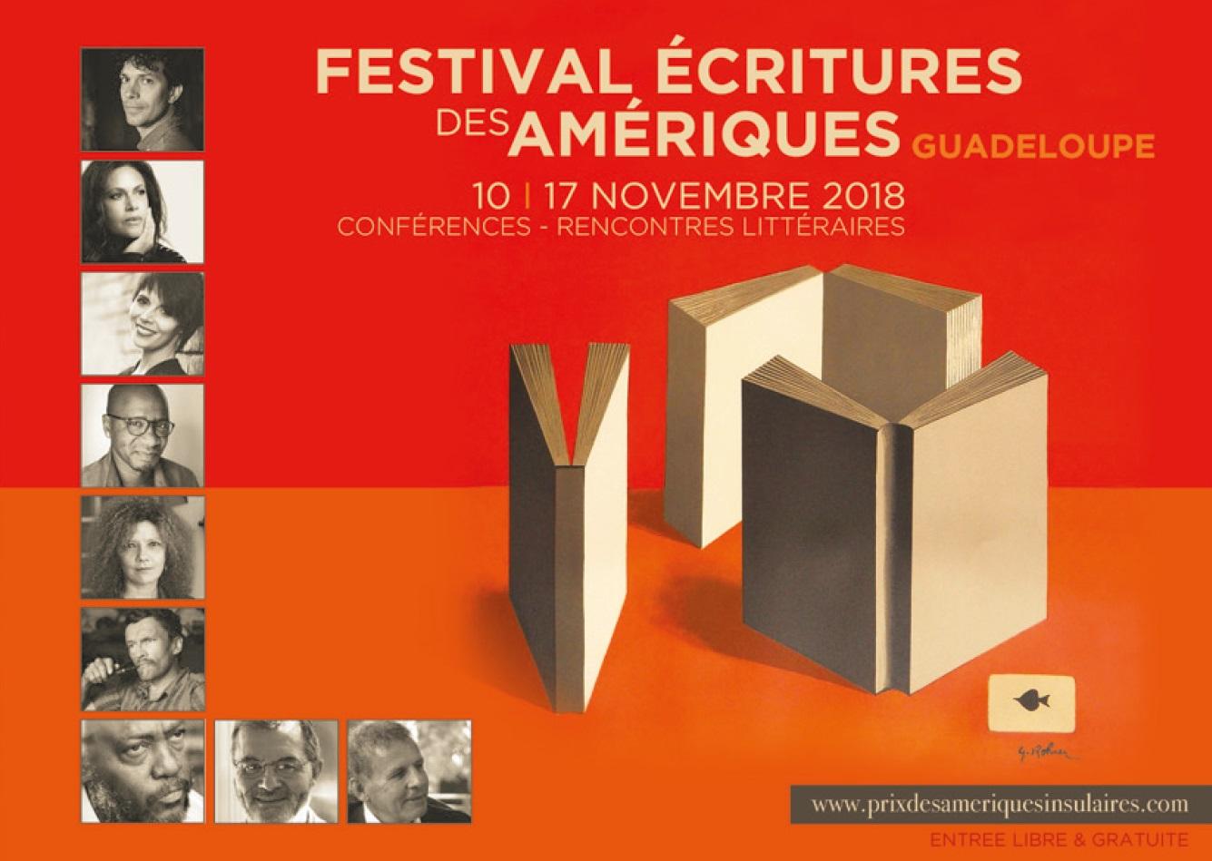 Couverture du livret du Festival Ecritures des Amériques