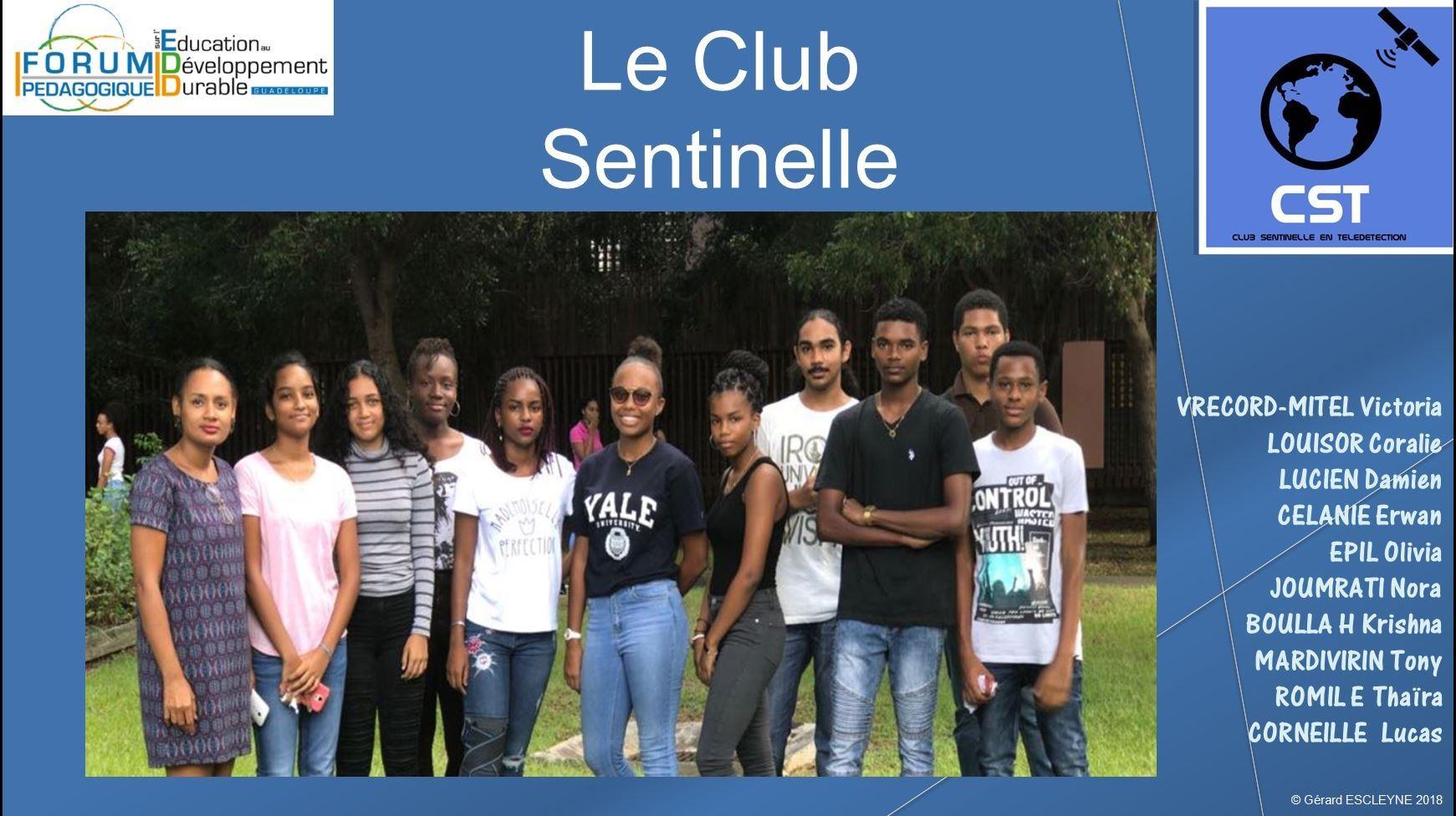 2ème génération du Club sentinelle