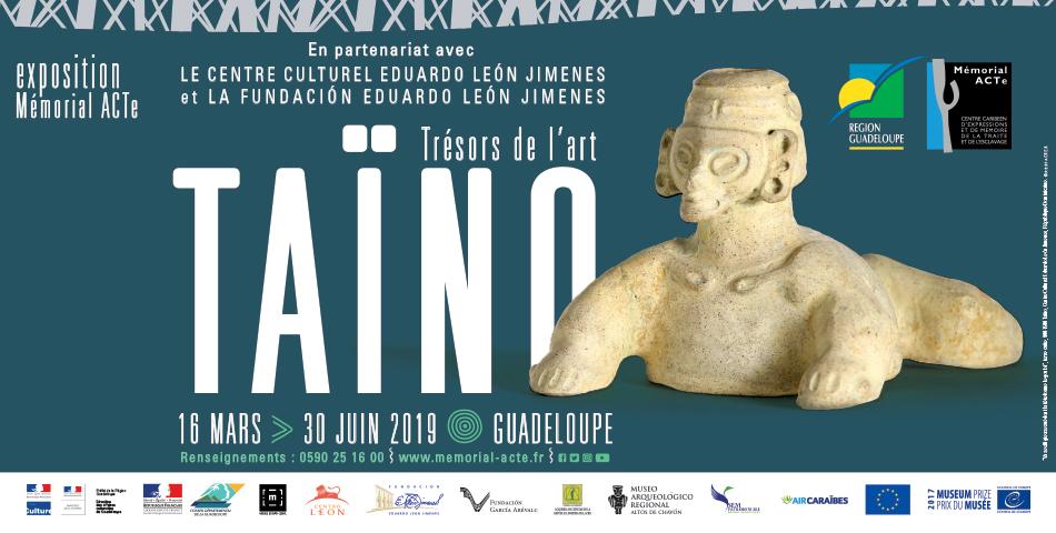 Affiche exposition Taïnos